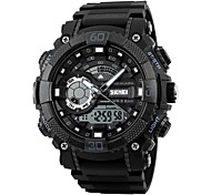 Недорогие -skmei мужчины спортивные часы привели цифровой двойной дисплей наручные часы хронограф сигнализации 50 м водонепроницаемые часы relogio