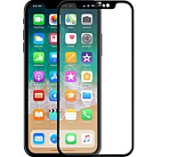Tempered Glass Screen Protector for Apple iPhone X Front Screen Protector High Definition (HD) 2.5D Curved edge Scratch Proof