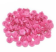 cheap -ZIQIAO 100Pcs Car Plastic Rivets Fastener Fender Bumper Push Pin Clip For Hyundai Car-styling