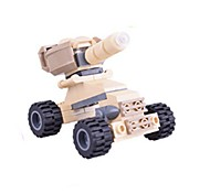 Building Blocks Toy Cars Toys Tank Chariot Pieces Children's Gift