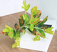 cheap -1 Branch Silk Plants Tabletop Flower Artificial Flowers Home Decoration Wedding Flowers