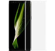 Недорогие -Защитная плёнка для экрана Samsung Galaxy для Note 8 PET 2 штs Защитная пленка на всё устройство 3D закругленные углы Ультратонкий