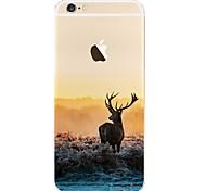 Недорогие -Назначение iPhone X iPhone 8 Чехлы панели С узором Задняя крышка Кейс для Пейзаж Мягкий Термопластик для Apple iPhone X iPhone 8 Plus