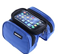 Bike Frame Bag Cell Phone Bag 5.7 inch Waterproof Rain-Proof Touch Screen Cycling for Iphone 8 Plus / 7 Plus / 6S Plus / 6 Plus Iphone X