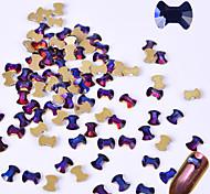 Недорогие -10 Блеск Аксессуары Со стразами Украшения для ногтей Компоненты для самостоятельного изготовления Вспышка 3-D блестит Хрусталь