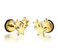 cheap -Men's Stud Earrings Fashion Rock Titanium Steel Star Jewelry For Daily Casual