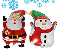 Balloon 60*45 Christmas Santa Claus Snowman Product Name Net Dimensions