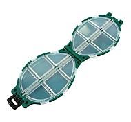 Недорогие -Коробки для рыболовных снастей Коробка для рыболовной снасти Водонепроницаемый пластик 11*7 см*3.2