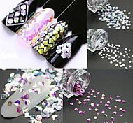 4 Nail Art Decoration Rhinestone Pearls Makeup Cosmetic Nail Art Design