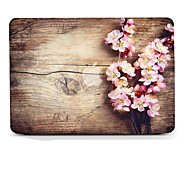 MacBook Funda para MacBook Air 13 Pulgadas MacBook Air 11 Pulgadas MacBook Pro 13 Pulgadas con Pantalla Retina Fibra de Madera Flor TPU