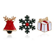 Women's Brooches Geometric Personalized Alloy Jewelry For Christmas Club