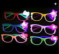 Недорогие -1pcs вел очки детей очки стойло игрушка партия украшения ramdon цвет