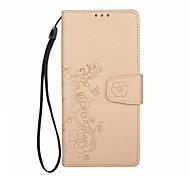 Hülle Für Samsung Galaxy Note 8 Geldbeutel Kreditkartenfächer Flipbare Hülle Geprägt Muster Magnetisch Handyhülle für das ganze Handy