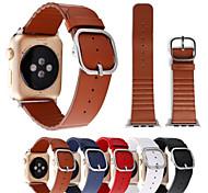 для яблок смотреть iwatch подлинный кожаный ремешок 38mm 42mm