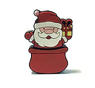 Недорогие -16gb рождество usb флеш-накопитель мультфильм творческий Санта-Клаус рождественский подарок usb 2.0