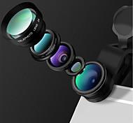 lentes de la cámara del smartphone del heyang lente granangular de 0.65x lente de la lente 10x de la lente de ojo de pescado lente cpl