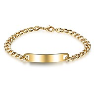 Men's Chain Bracelet Fashion Stainless Steel Geometric Jewelry For Gift Christmas