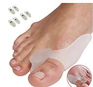 Недорогие -Ступни массажер Toe Сепараторы и мозолей Pad Массаж Защитный ортопедических Облегчает боль Массаж