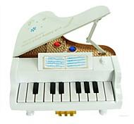 Caixa de música Brinquedos Piano Peças Unisexo Dom