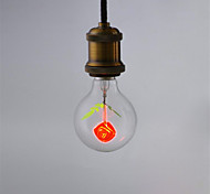 1pcs G80 Rose E27 Decorative Light Bulb Incandescent Light Aerolux Style Christmas  for Home Lampada AC220V