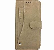 Hülle Für Samsung Galaxy Note 8 Geldbeutel Kreditkartenfächer mit Halterung mit Sichtfenster Flipbare Hülle Magnetisch Handyhülle für das