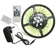 5M 300x5050LED Strip Light Sets Waterproof RGB 10 key controller AC100-240V AU / EU / US / UK Power Plug  DC12V 2A