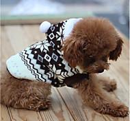 Собака Толстовки Одежда для собак На каждый день Английский Коричневый Красный