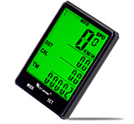 West biking Bike Computer/Bicycle Computer Waterproof Av - Average Speed Odo - Odometer LCD Display Wired Max - Maximum Speed SPD -