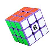 Rubik's Cube YJ8254 Cubo Macio de Velocidade 3*3*3 Cubos Mágicos Antiestresse Brinquedo Educativo Adesivo Liso Nível Profissional