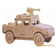 3D Puzzles Toy Cars Model Building Kits Military Vehicle Toys Car Vehicles Military Special Designed New Design Kids Pieces