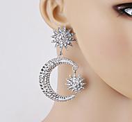 cheap -Women's Drop Earrings Rhinestone Fashion Alloy Star Jewelry For Party