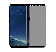Vidro Temperado Protetor de Tela para Samsung Galaxy S8 Plus Protetor de Tela Frontal Anti Impressão Digital Privacidade Anti Espionagem