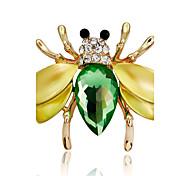 Недорогие -Жен. Броши Синтетический алмаз Multi-Wear способы Сделай-сам Стразы Сплав В форме животных Бижутерия Назначение Для вечеринок Для сцены