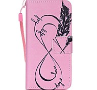 Недорогие -чехол для iphone touch touch 5 touch 6 чехол для карточек с чехлом для карточек с подставкой с флип-патчем корпус для всего тела розовый