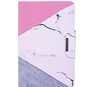 Недорогие -Кейс для Назначение SSamsung Galaxy Tab A 10.1 (2016) Чехол единорогом / Фламинго / Мрамор Твердый Кожа PU для Tab A 10.1 (2016)