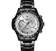 CURREN Men's Sport Watch Fashion Watch Wrist watch Quartz Stainless Steel Band Luxury Cool Casual Black