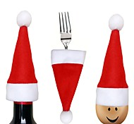Dining and Kitchen Holiday Classic Theme Wedding Birthday Velvet Christmas Decoration