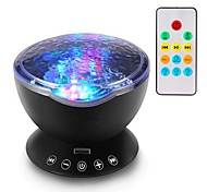 cheap -1set Sky Projector NightLight Colorful USB Smart For Children Remote Controlled Rechargeable Dimmable Touch Sensor Color-Changing with
