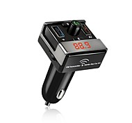 A7 Bluetooth FM Transmitter Car Kit Hands Free Dual USB Charger AUX MP3 Player Car Wireless Radio Bluetooth Adapter