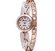 Недорогие -JUBAOLI Жен. Наручные часы Модные часы Китайский Кварцевый Горячая распродажа сплав Группа Кулоны На каждый день Cool Серебристый металл