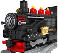 Недорогие -Конструкторы Поезд Игрушки Шлейф Пейзаж Транспорт Мода Детские Куски