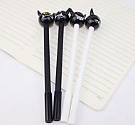12 PCS Little Demon Black Ink Gel Pen