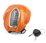 arancione arancione coperture in bianco 4 lampadine a LED per la moto