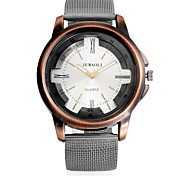 Недорогие -JUBAOLI Муж. Наручные часы Модные часы Китайский Кварцевый Повседневные часы Металл Группа Винтаж На каждый день Cool Черный Хаки