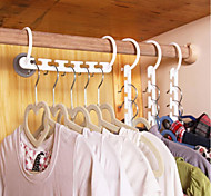 2PCS Space Saver Wonder Magic Hanger Closet Organizer Wonder Hanger