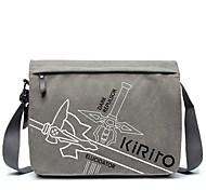 Недорогие -Сумки Вдохновлен Sword Art Online Kirito Аниме Косплэй аксессуары Полотно