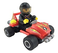 cheap -Building Blocks Race Car Toys Car Kids 1 Pieces