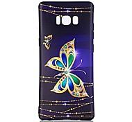 Кейс для Назначение С узором Задняя крышка Бабочка Мягкий TPU для Note 8 Note 5 Edge Note 5 Note 4 Note 3 Lite Note 3 Note 2 Note Edge