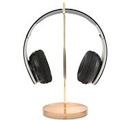 cheap -Universal Headphone Stand Acrylic Base Earphone Holder Professional display rack Headset Hanger Bracket Gold for Gamer Exhibition Center Store Use