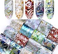 16 Стикер искусства ногтя макияж Косметические Ногтевой дизайн